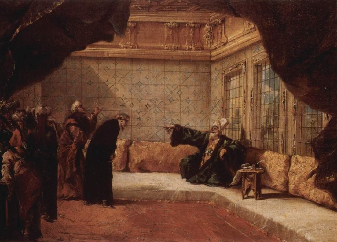 Аудиенция у султана, Джованни Антонио Гварди