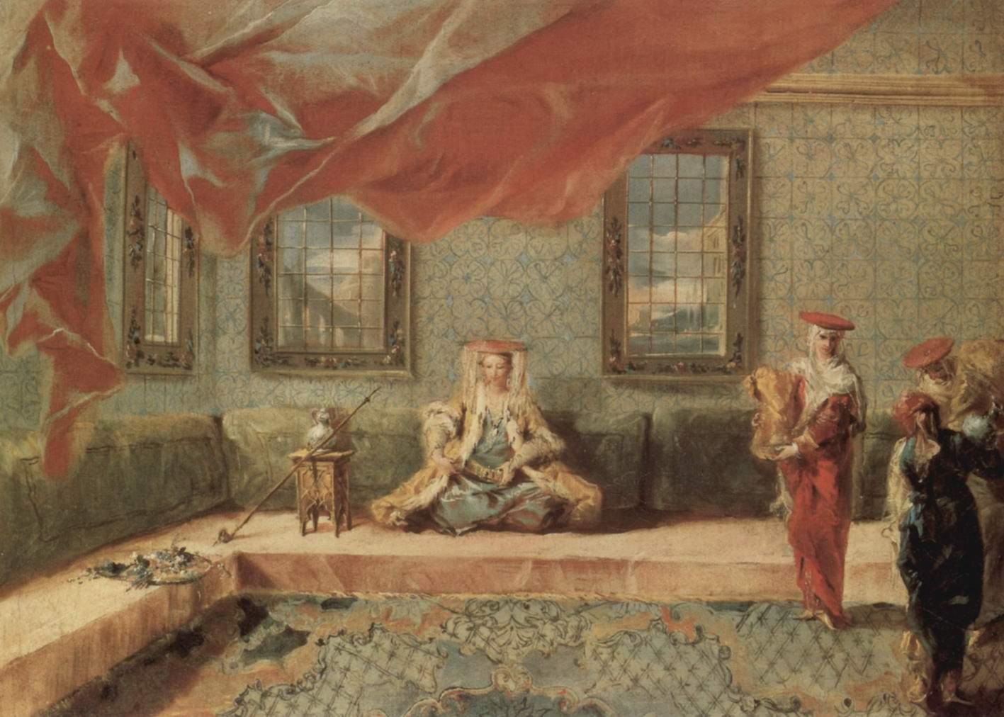 Сцена в гареме, Джованни Антонио Гварди