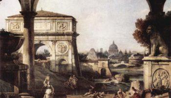 Римское каприччио, арка Тита