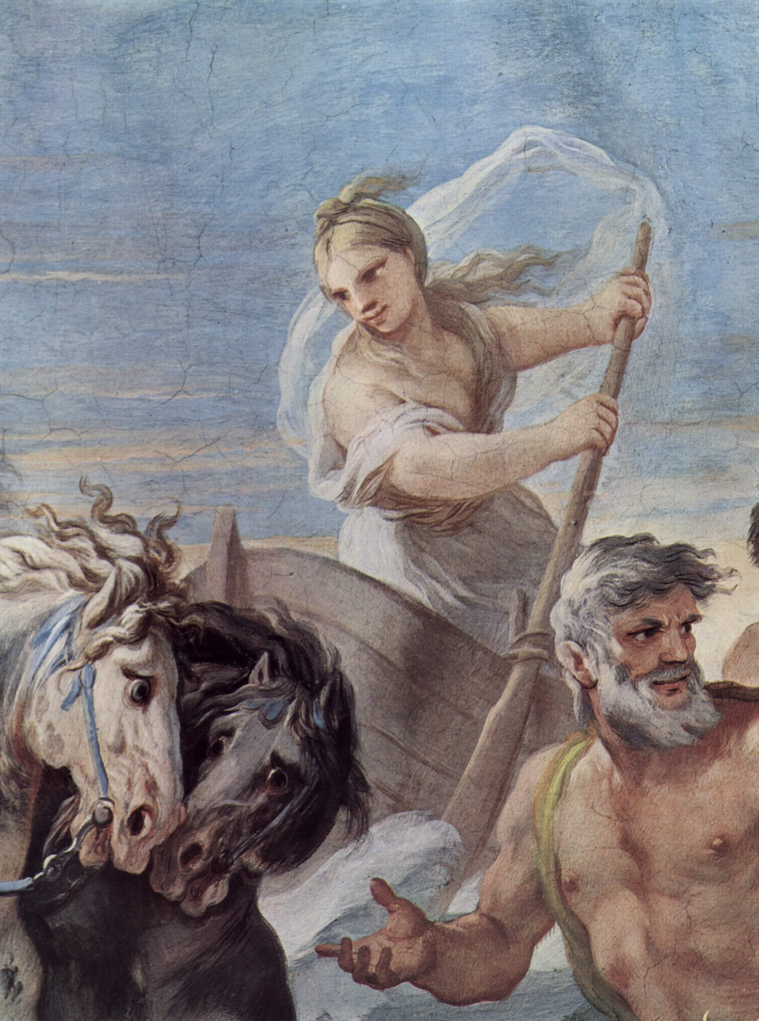 Вестница богов Ирида, Джордано Лука