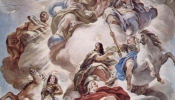 Триумф Медичи на облаках Олимпа