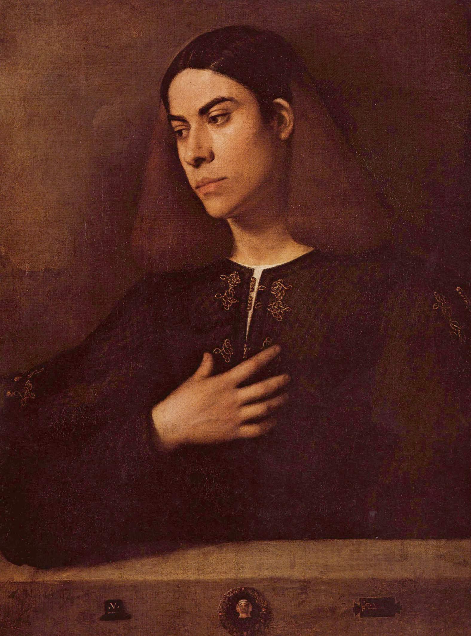 Портрет Антонио Броккардо, Джорджоне