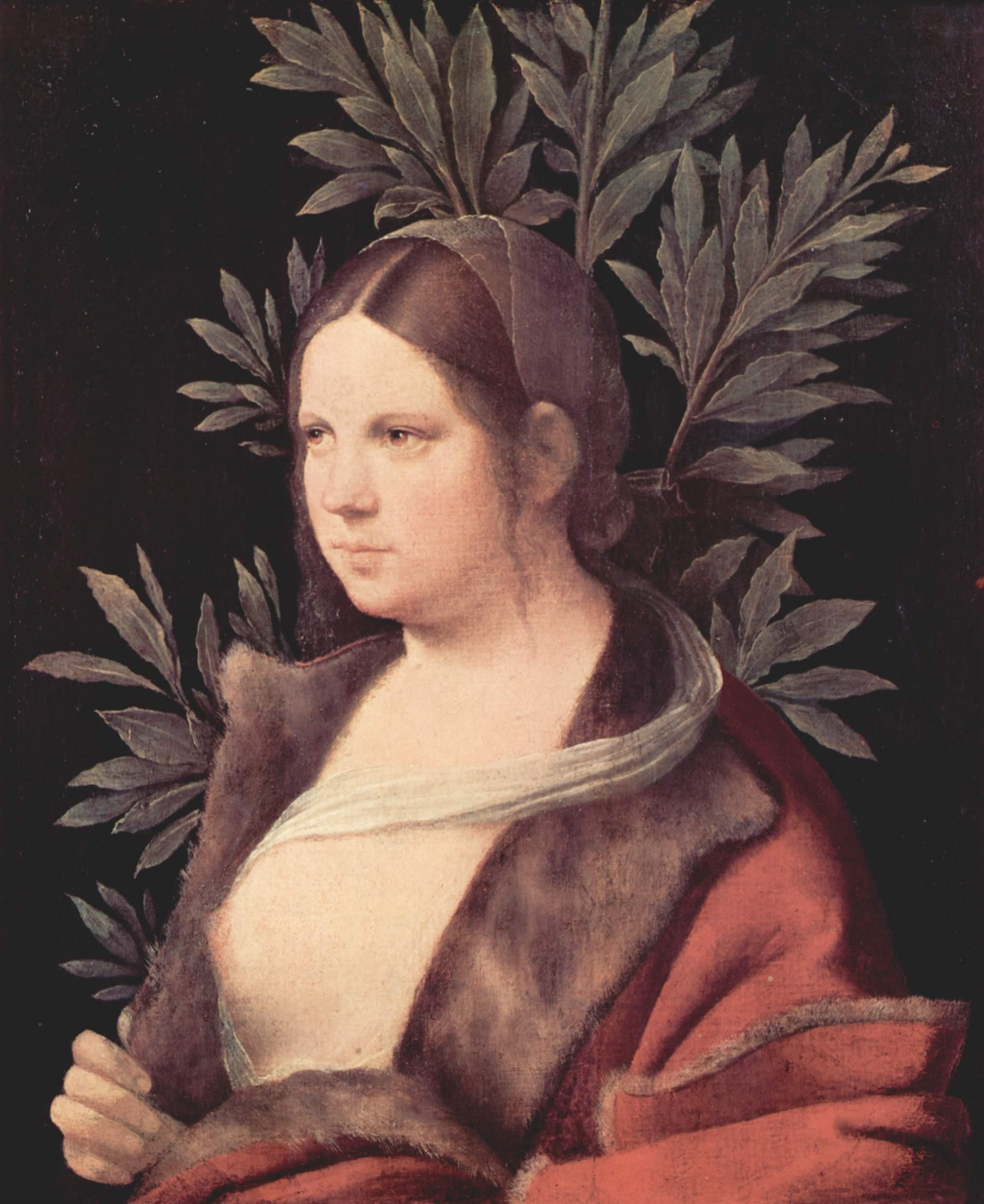 Лаура (портрет молодой женщины), Джорджоне