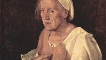 Старуха. Портрет пожилой женщины