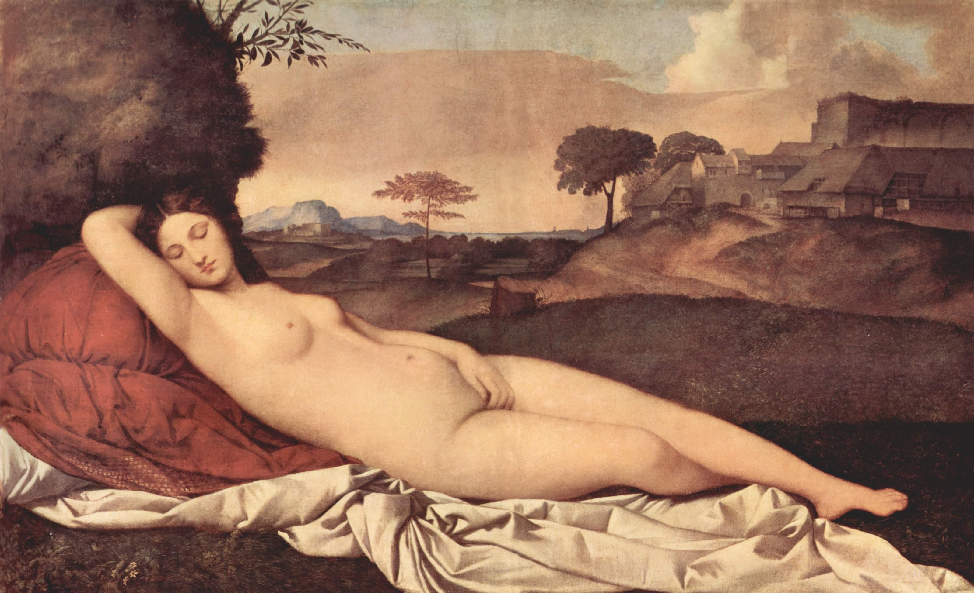 Спящая Венера, Джорджоне