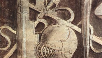 Фриз с гризайлями с изображениями