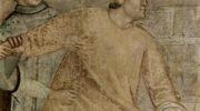 Цикл фресок из жизни св. Франциска, капелла Барди [04]. Санта Кроче во Флоренции. Обручение св. Фран
