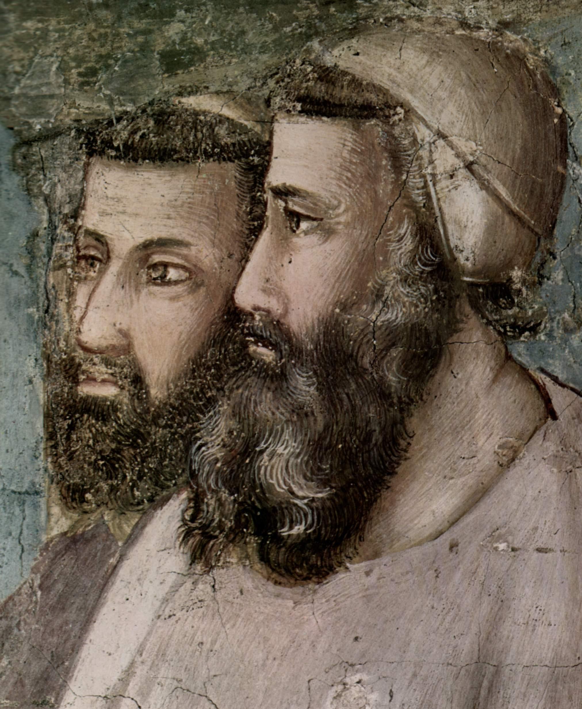 Цикл фресок из жизни св. Франциска, капелла Барди [05]. Санта Кроче во Флоренции. Подтверждение орде, Джотто ди Бондоне
