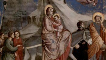 Бегство в Египет. Сцены из жизни Христа