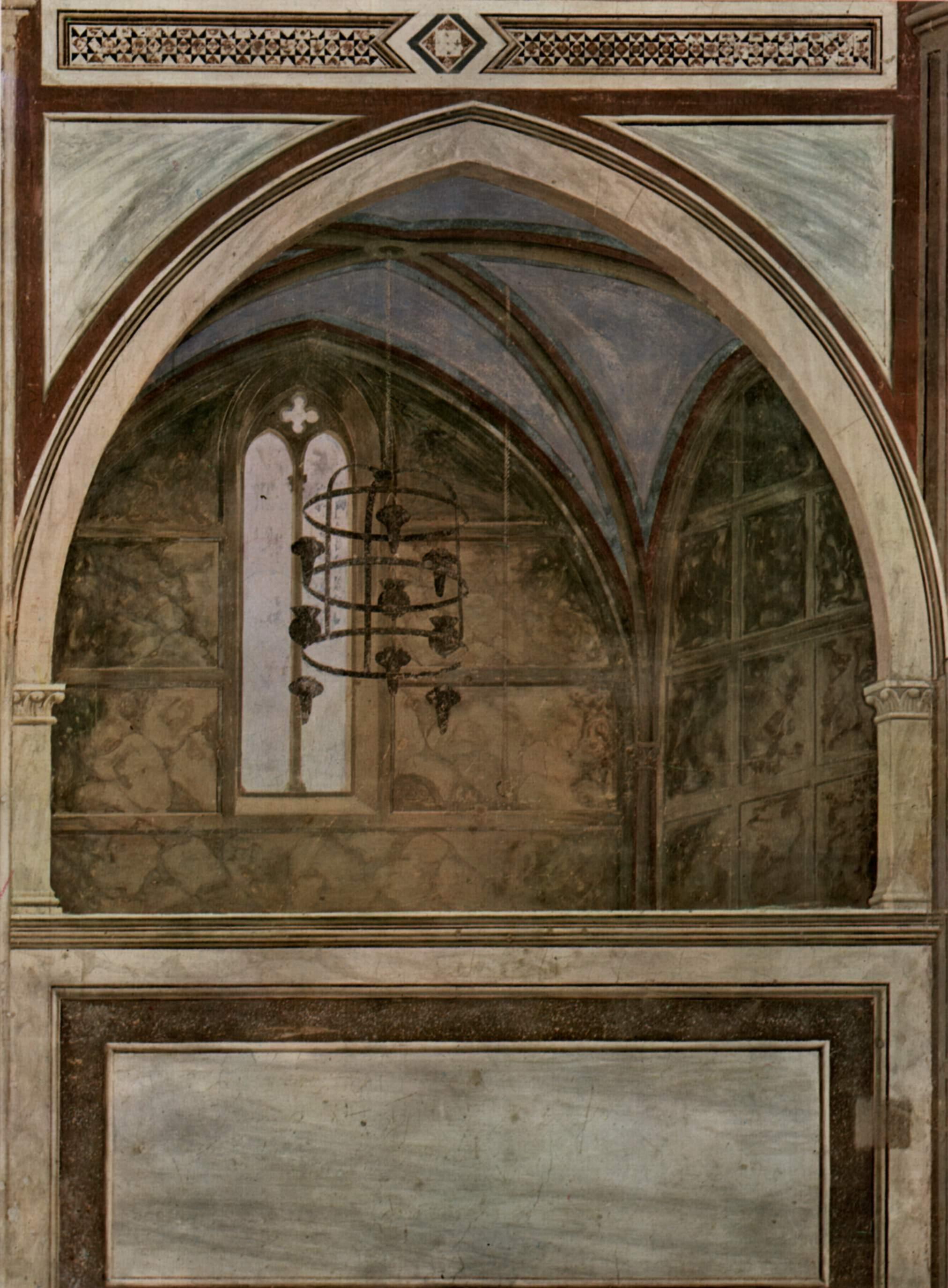 Цикл фресок из жизни св. Франциска, капелла Барди [12]. Санта Кроче во Флоренции. Кончина св. Франци, Джотто ди Бондоне
