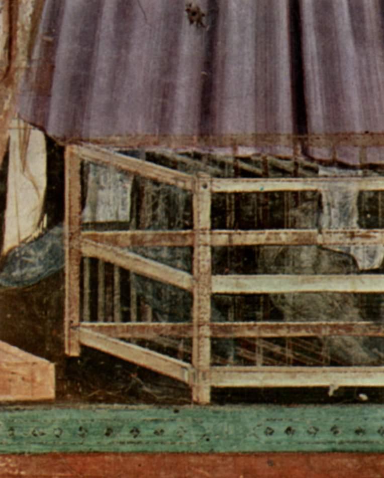 Цикл фресок капеллы Арена [18] в Падуе (капелла Скровеньи). Изгнание торгующих из храма. Фрагмент. П, Джотто ди Бондоне