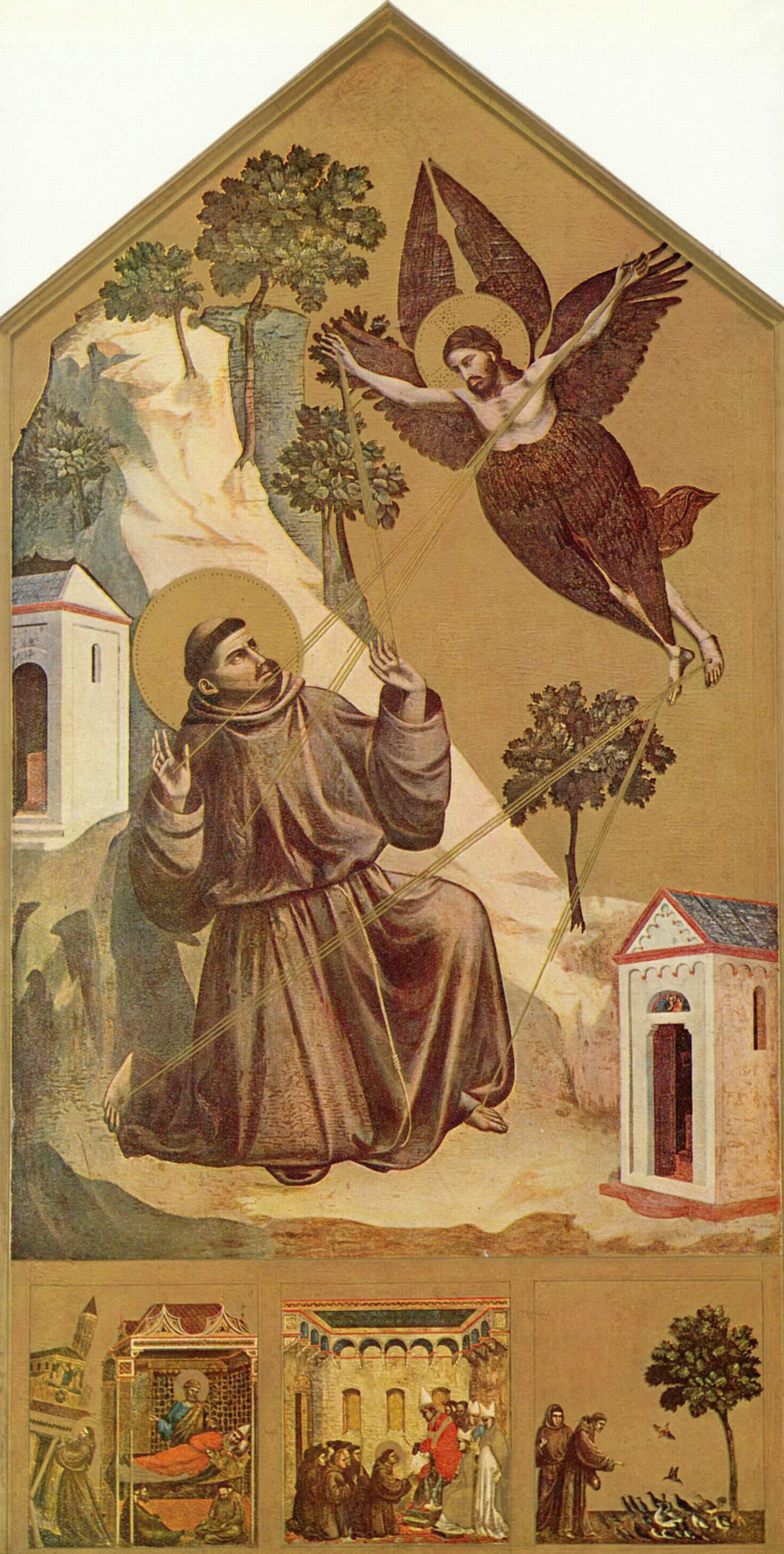 Стигматизация св. Франциска, Джотто ди Бондоне