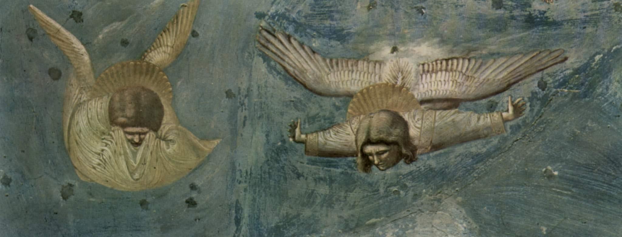 Цикл фресок капеллы Арена [23] в Падуе (капелла Скровеньи). Брак в Кане Галилейской. Фрагмент, Джотто ди Бондоне