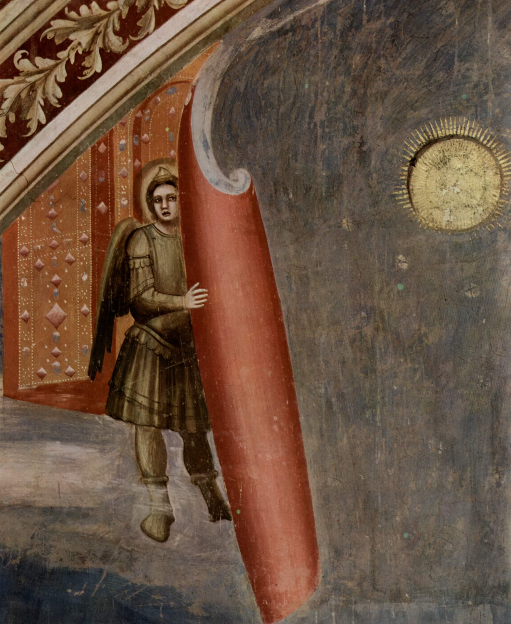 Цикл фресок капеллы Арена [32] в Падуе (капелла Скровеньи). Распятие, Джотто ди Бондоне