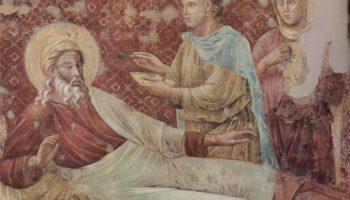 Цикл фресок о жизни св. Франциска Ассизского. Исаак отвергает Исава