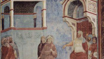 Святой Франциск перед султаном. Испытание огнем. Легенда о святом Франциске