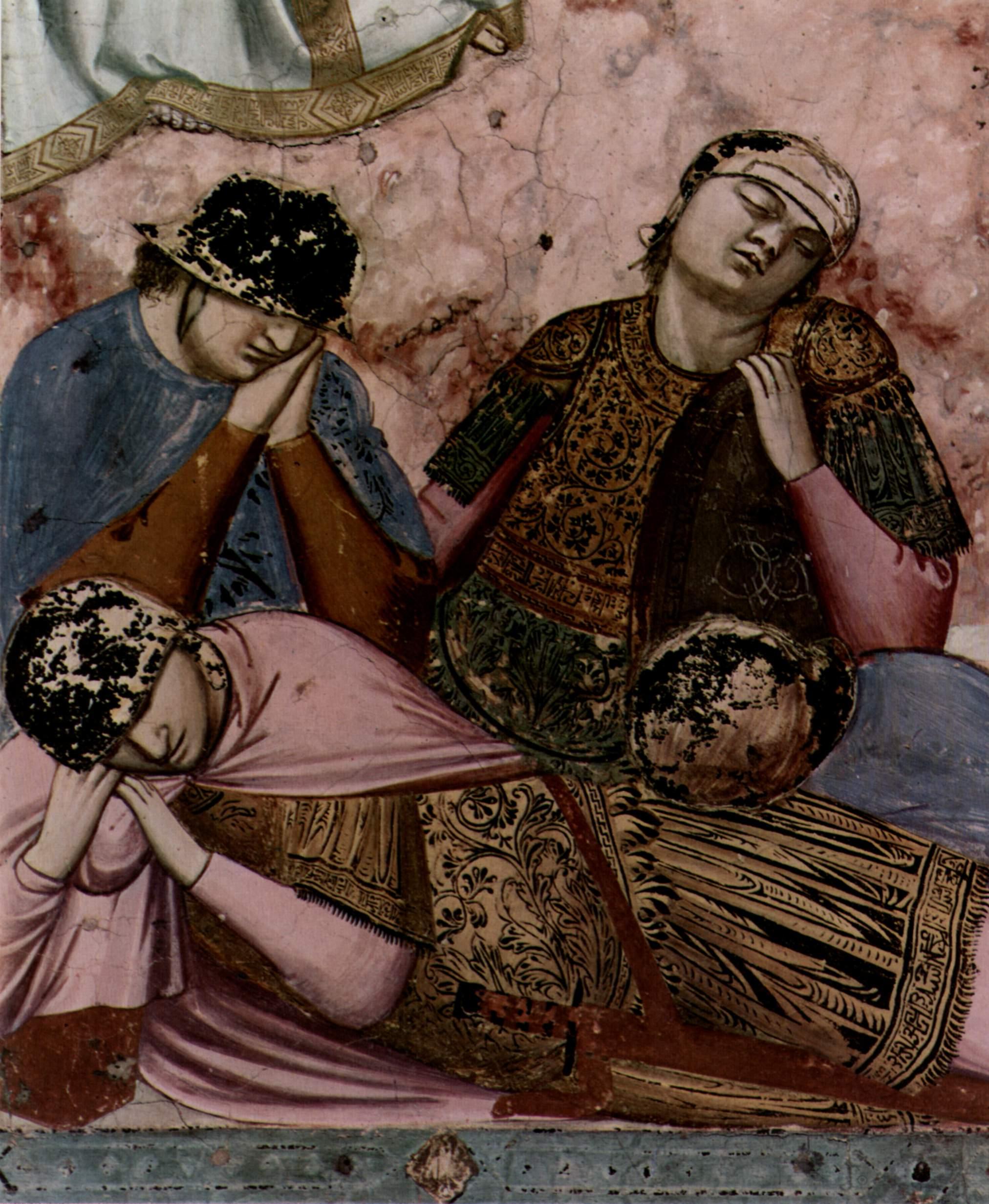 Цикл фресок капеллы Арена [331] в Падуе (капелла Скровеньи), Джотто ди Бондоне