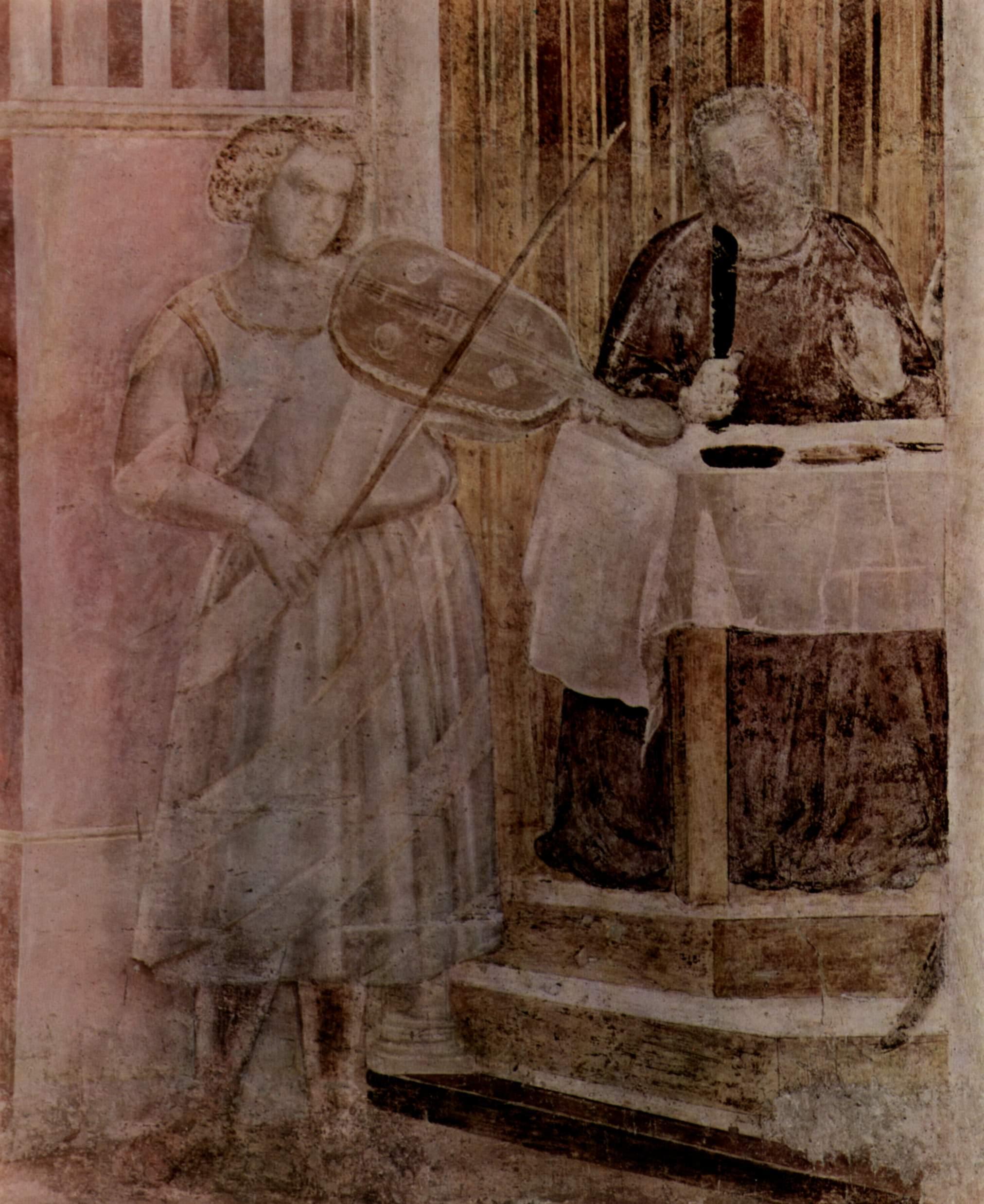 Цикл фресок капеллы Перуцци [01]. Санта Кроче во Флоренции. Орнамент. Фрагмент, Джотто ди Бондоне