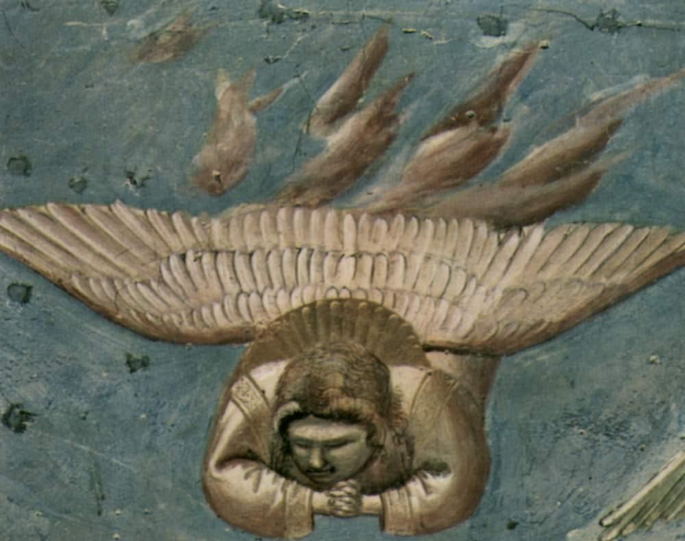 Цикл фресок капеллы Арена [24] в Падуе (капелла Скровеньи). Оплакивание Христа. Фрагмент. Скорбящие, Джотто ди Бондоне