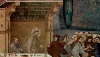 Смерть рыцаря из Челано. Легенда о святом Франциске
