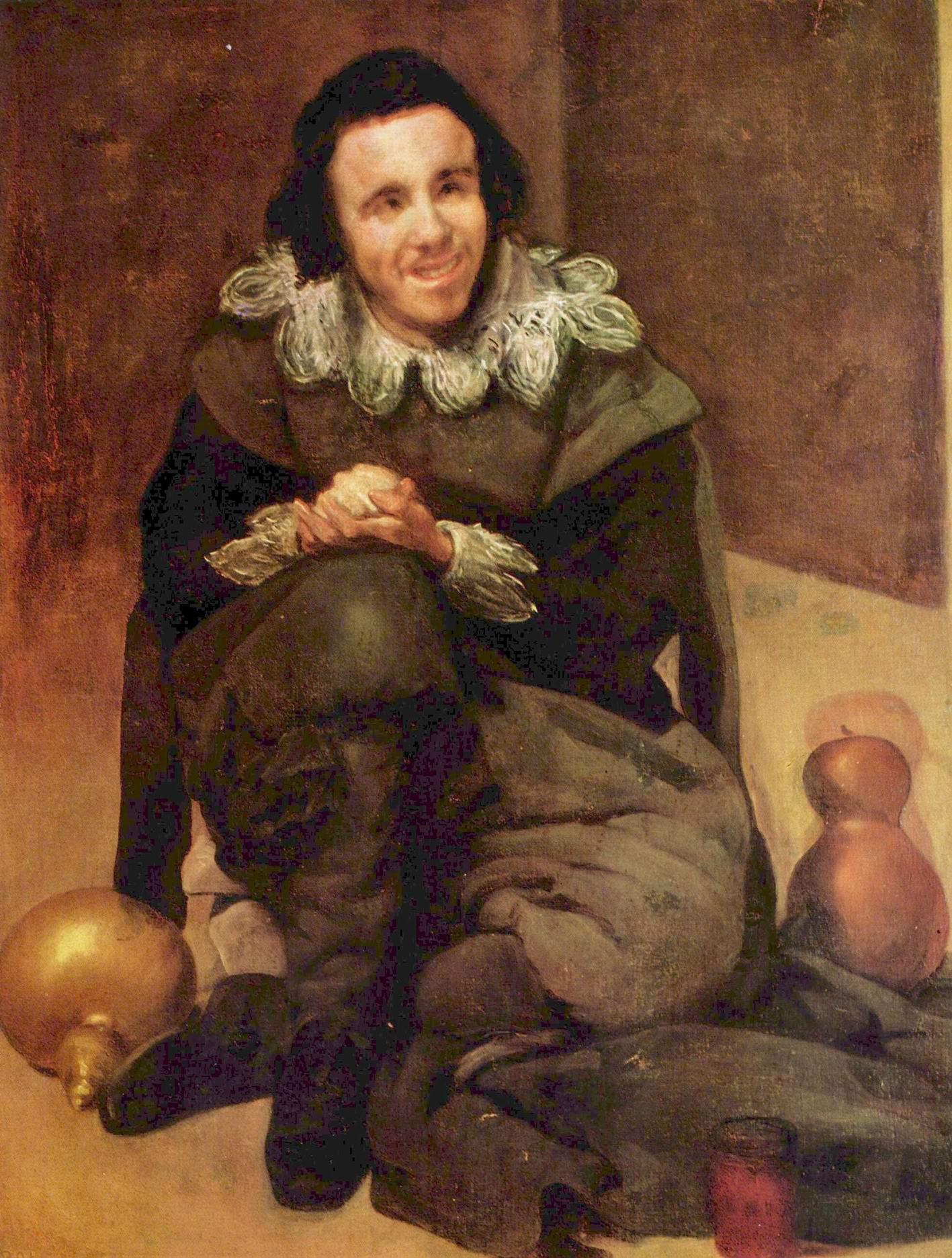 Портрет придворного шута Хуана де Калабасаса, Диего Веласкес