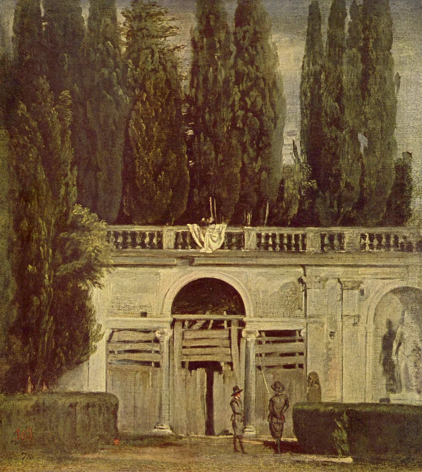 В саду виллы Медичи в Риме, Диего Веласкес