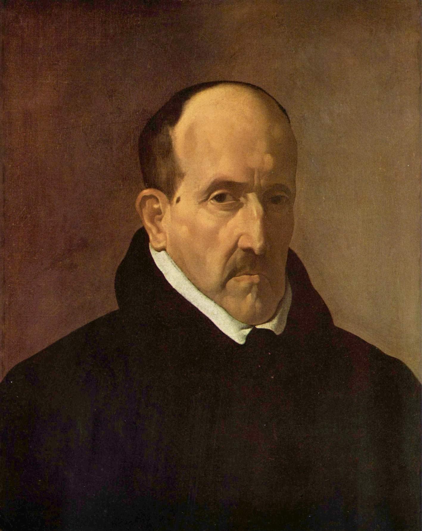 Портрет поэта Луиса де Гонгора-и-Арготе, Диего Веласкес