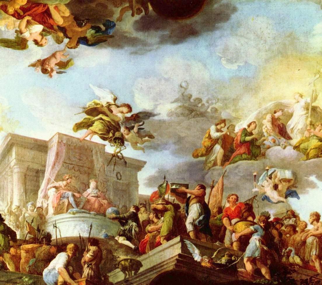 Христофор Колумб представляет их католическим величествам Новый Свет, Диего Веласкес
