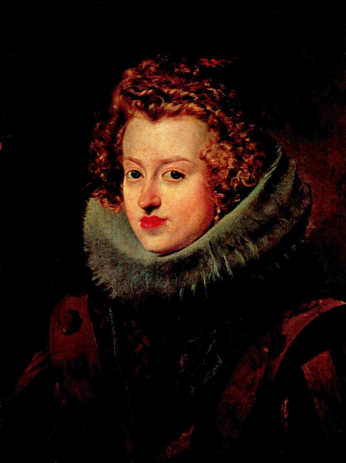 Портрет инфанты Марии Австрийской, Диего Веласкес