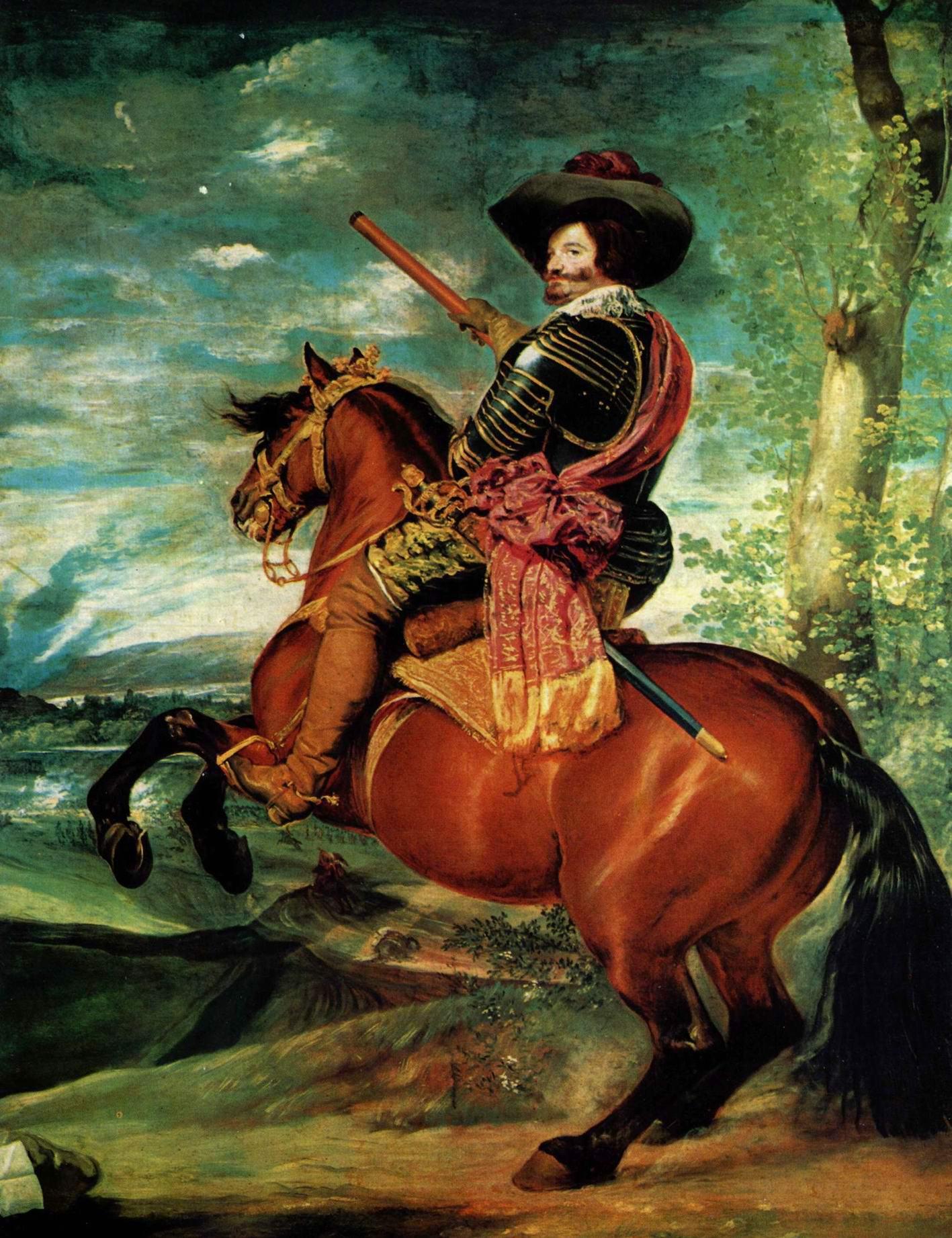 Конный портрет Гаспара де Гусмана, герцога Оливареса, Диего Веласкес