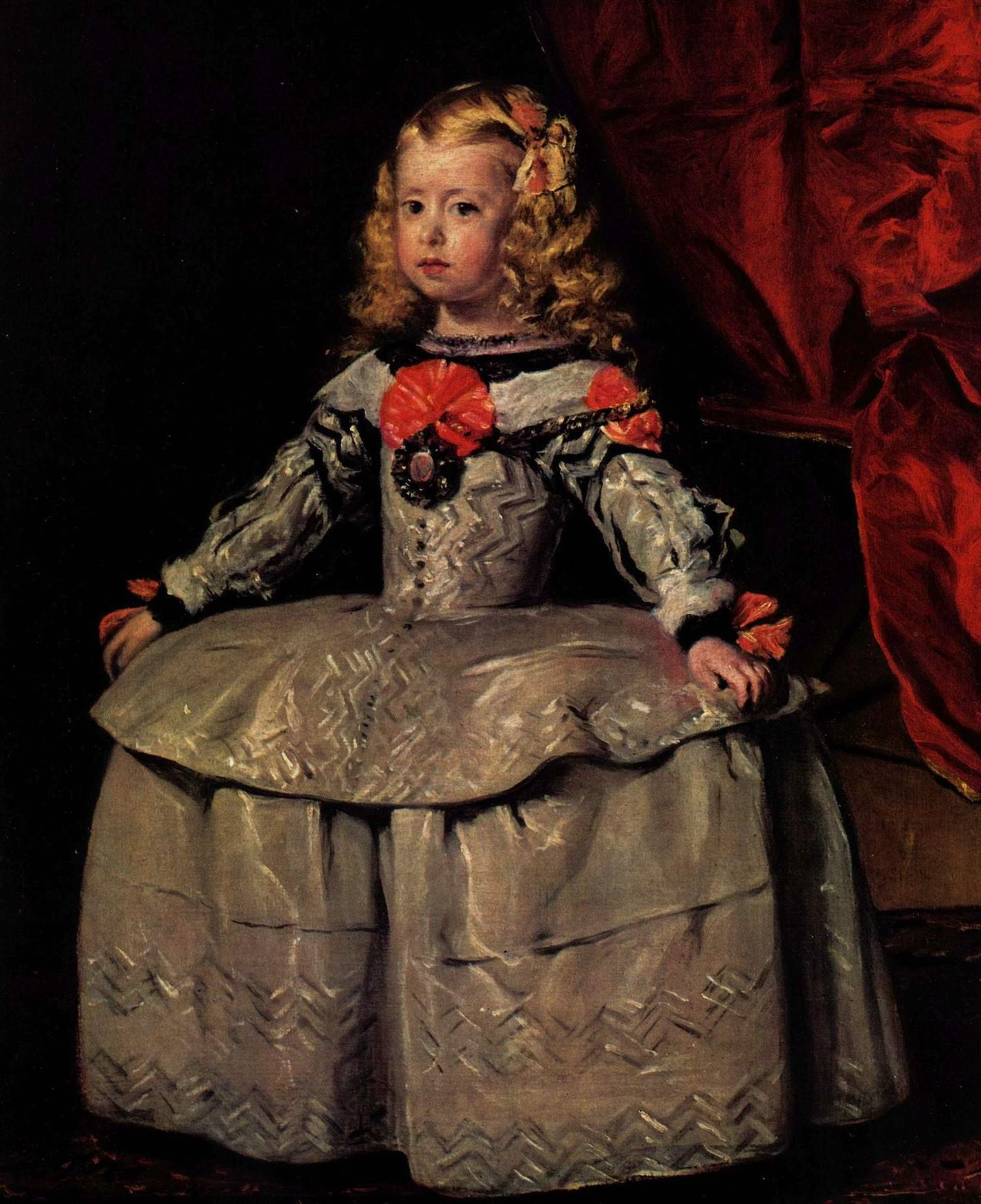 Портрет инфанты Маргариты в трехлетнем возрасте, Диего Веласкес