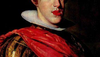 Портрет Филиппа IV в доспехах. Фрагмент