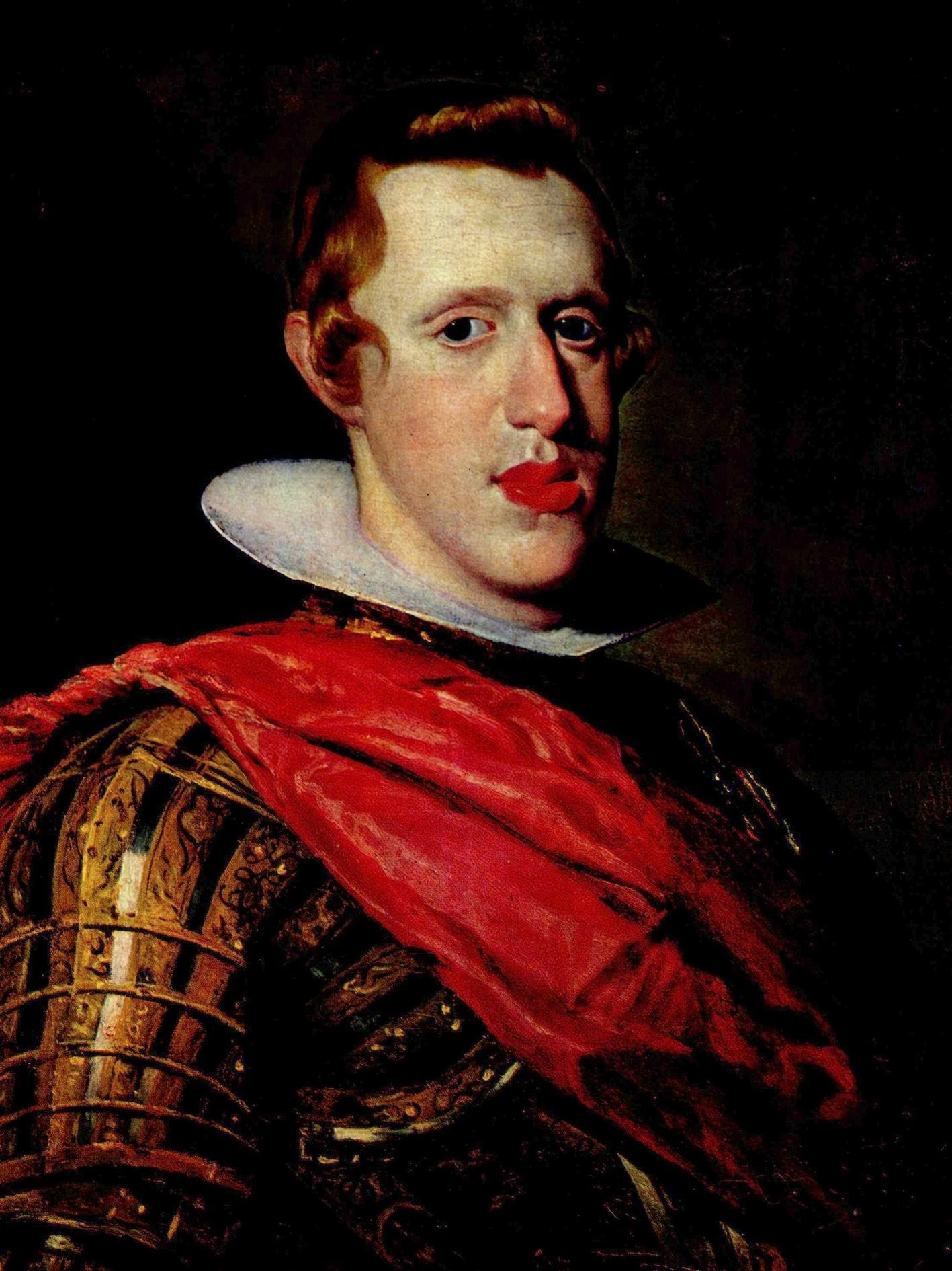Портрет Филиппа IV в доспехах. Фрагмент, Диего Веласкес