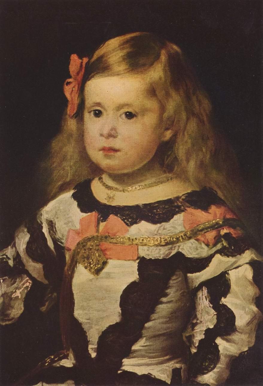 Портрет инфанты Маргариты. Фрагмент, Диего Веласкес