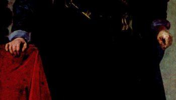 Портрет графа-герцога де Оливареса