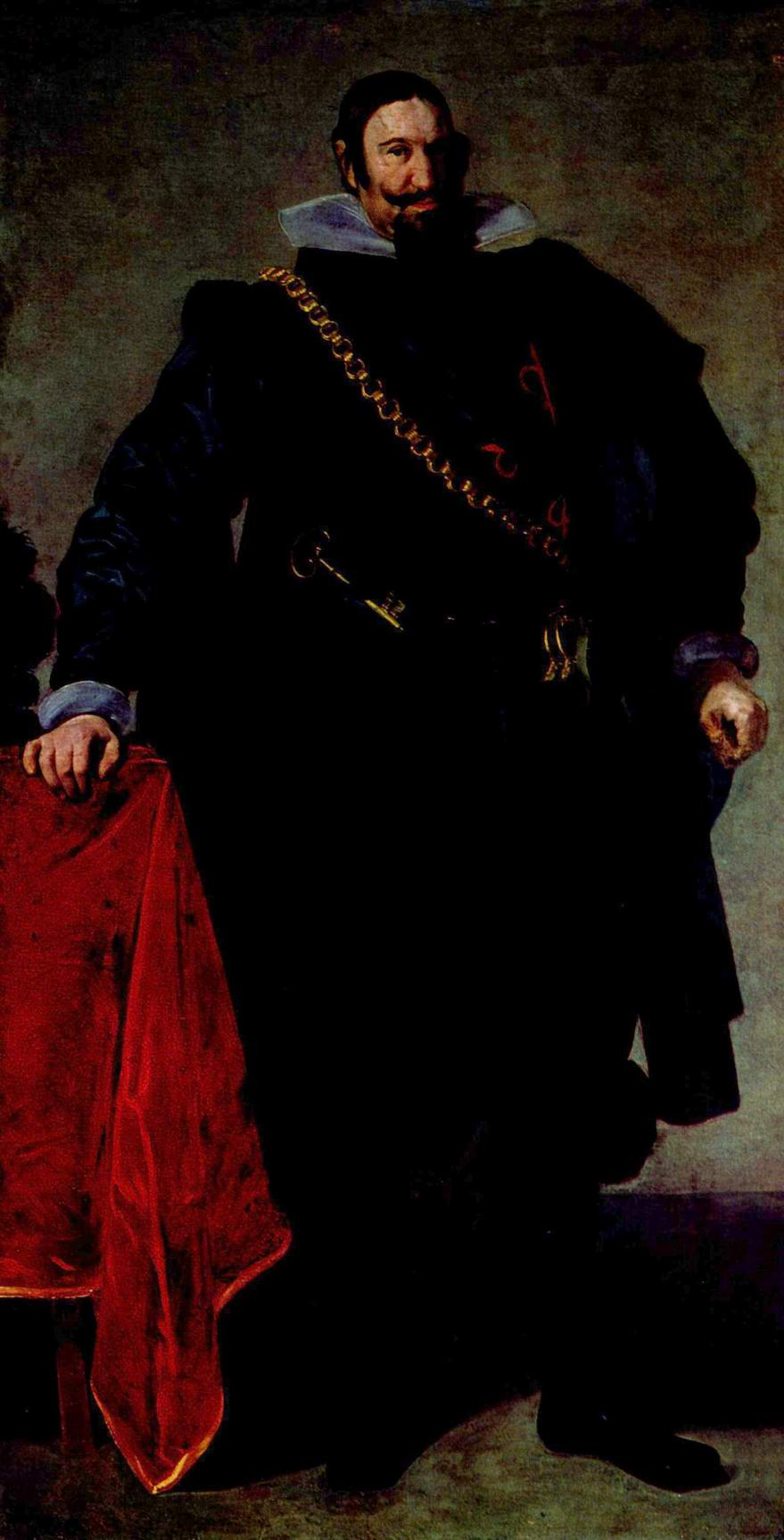 Портрет Гаспара де Гусмана, герцога Оливареса, Диего Веласкес