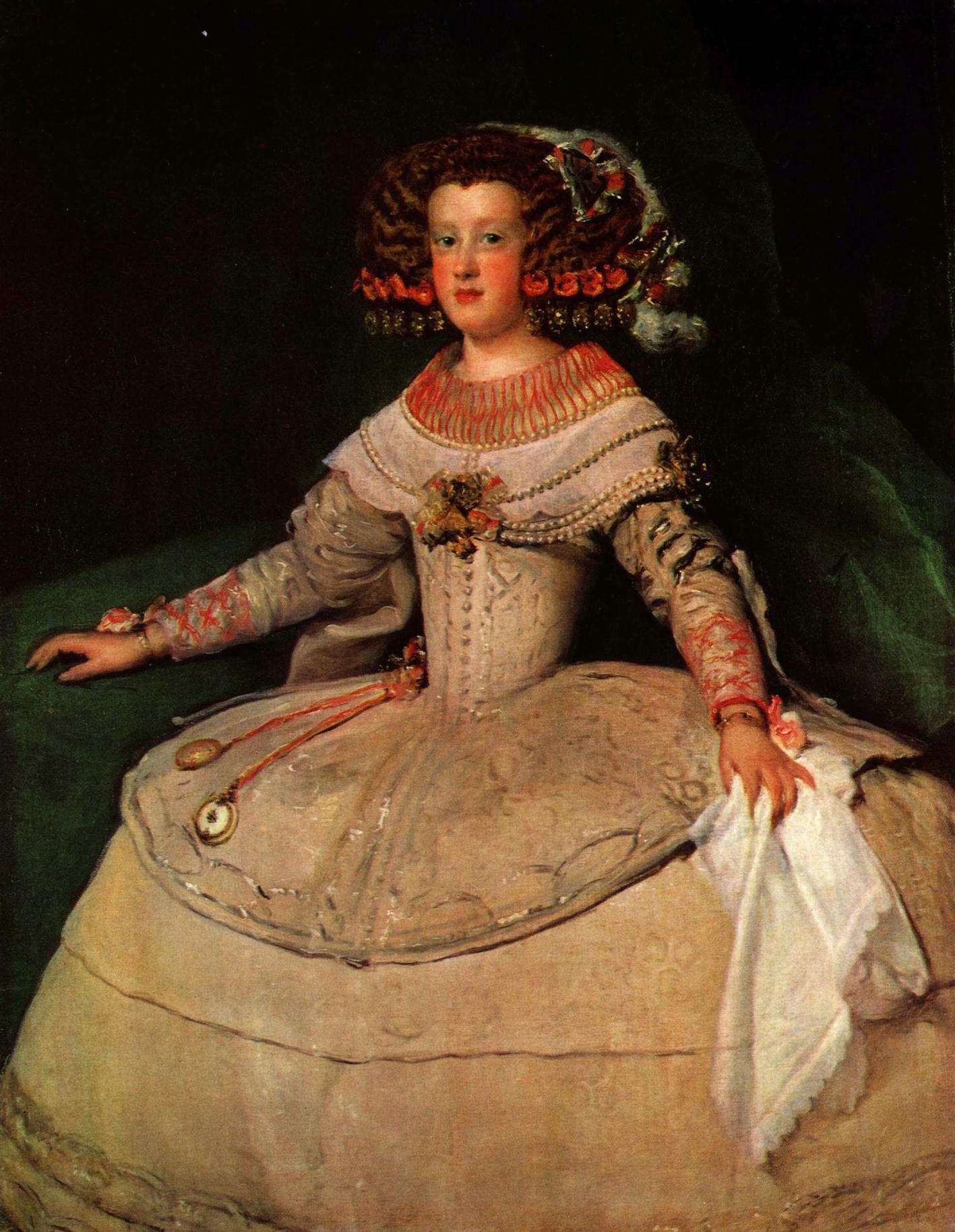 Портрет инфанты Марии Терезии в 14-летнем возрасте, Диего Веласкес