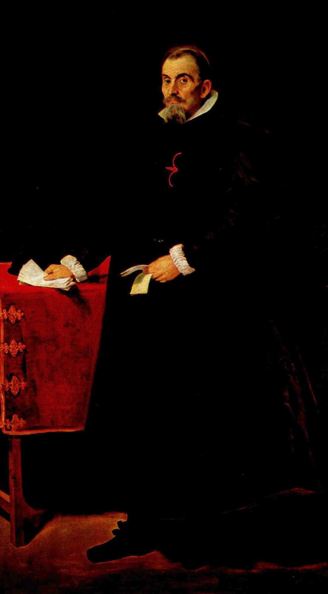 Портрет дона Диего де Корраль-и-Арельяно, Диего Веласкес