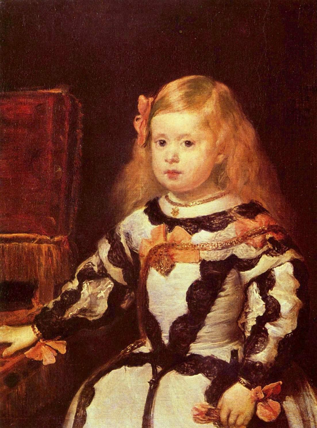 Портрет инфанты Маргариты, дочери Филиппа IV, Диего Веласкес