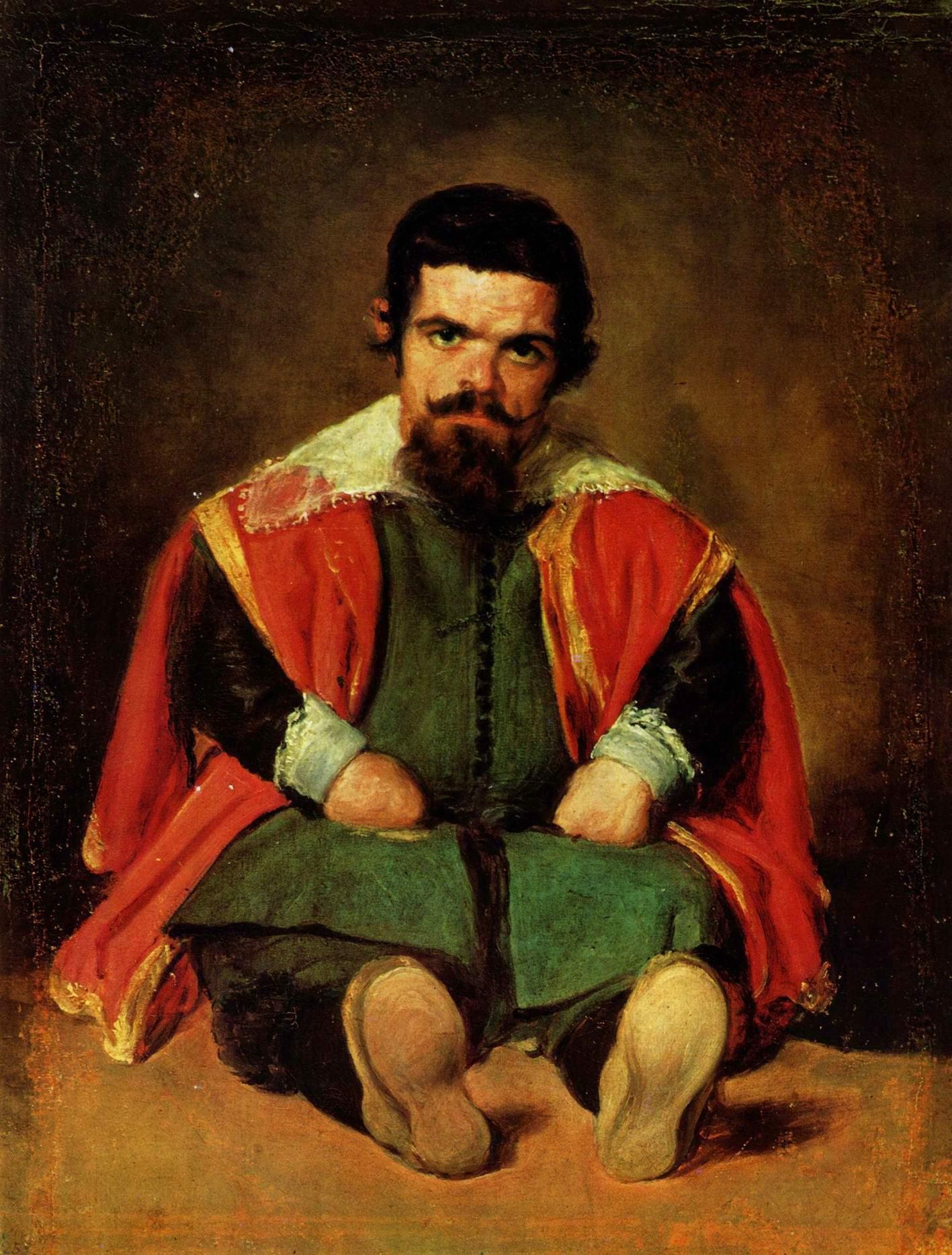 Портрет придворного шута (Себастьяна Морры2a28, Диего Веласкес