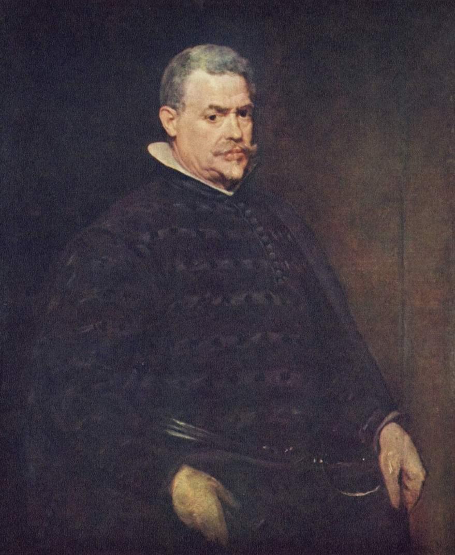 Портрет Хуана Матеоса, Диего Веласкес