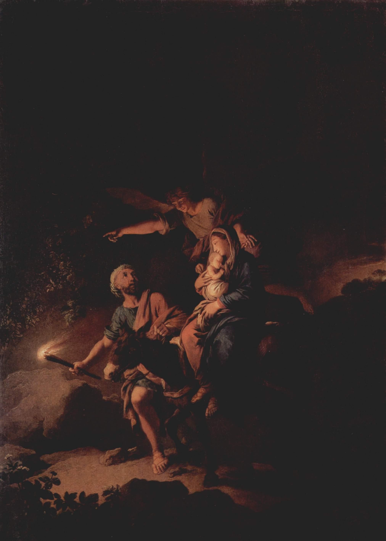 Бегство в Египет, Дитрих Христиан Вильгельм Эрнст