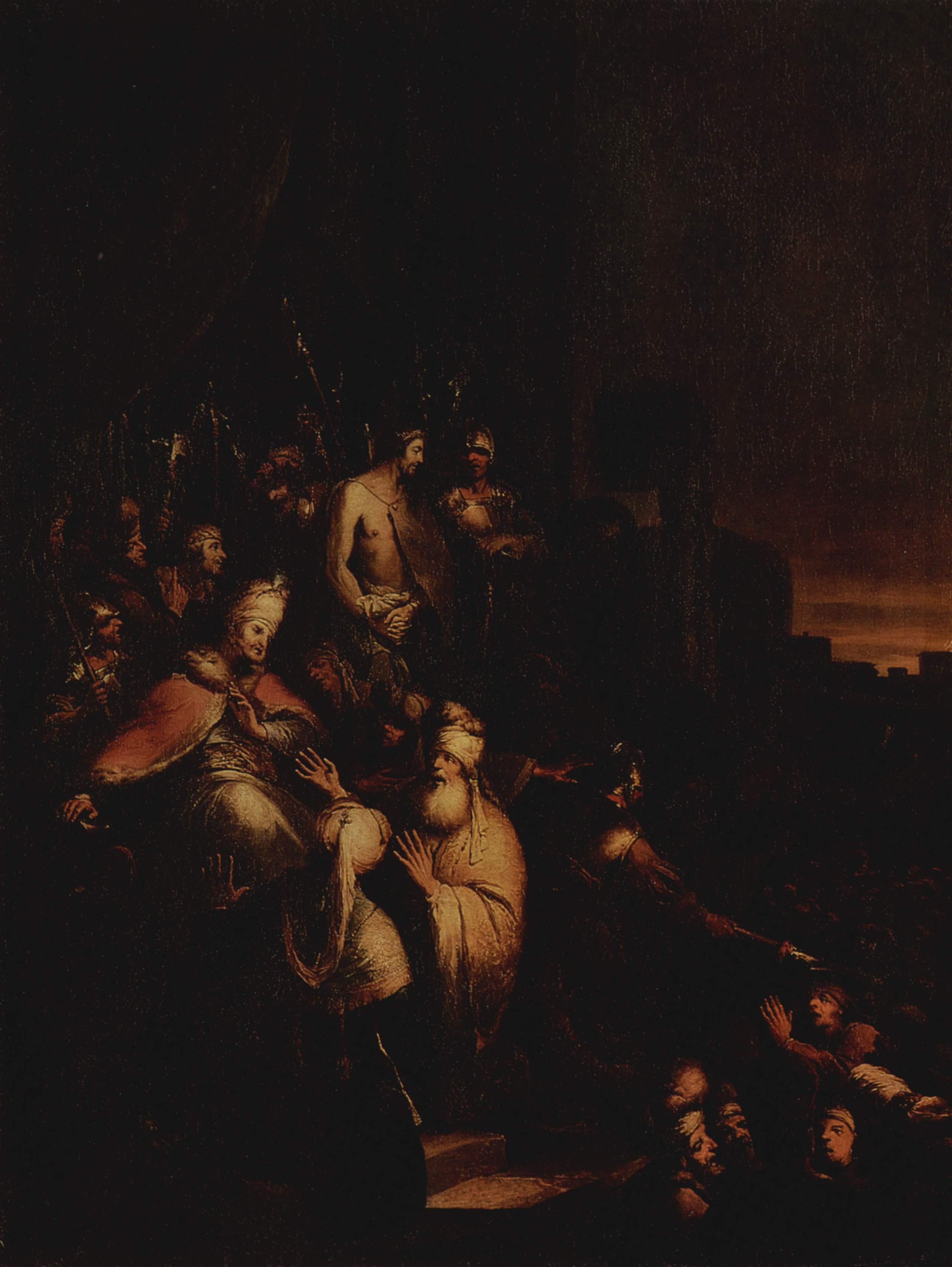 Христос перед народом, Дитрих Христиан Вильгельм Эрнст