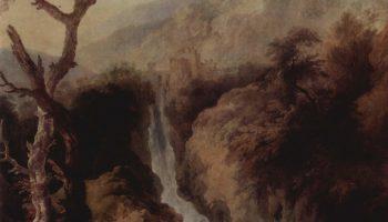Водопады в окрестностях Рима