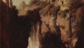 Водопады в Тиволи