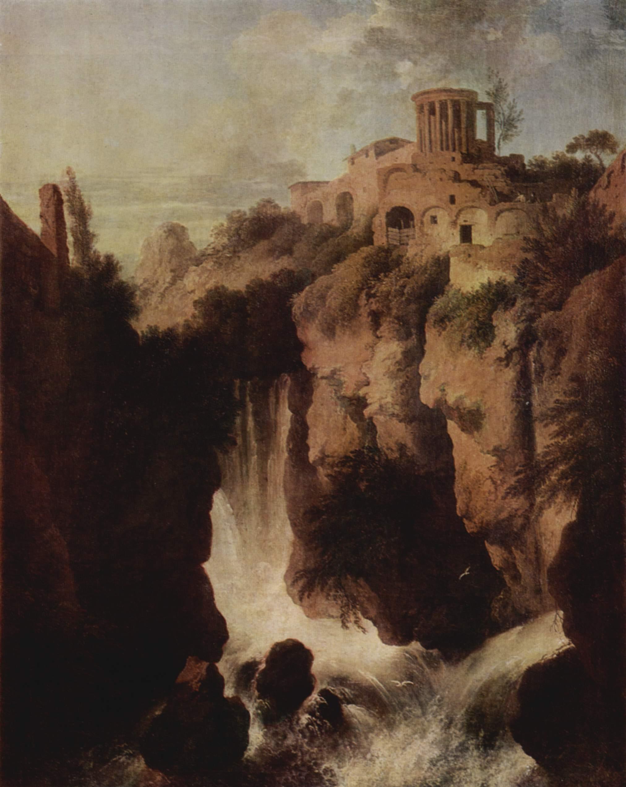 Водопады в Тиволи, Дитрих Христиан Вильгельм Эрнст