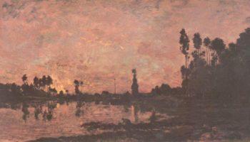 Закат на Уазе