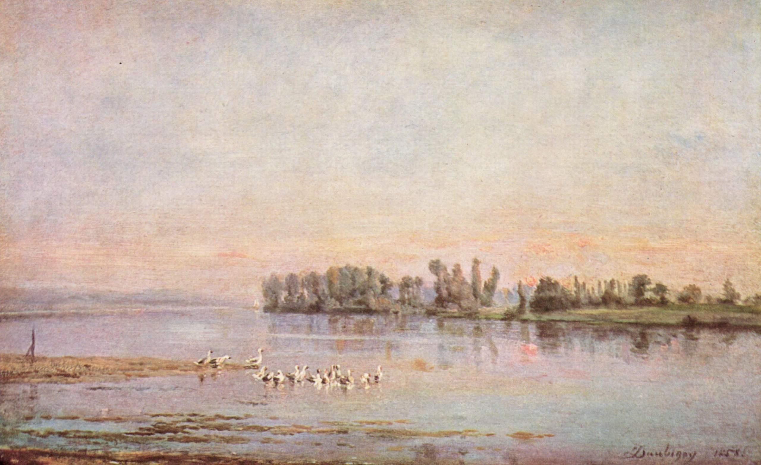 Утро, Добиньи Шарль-Франсуа
