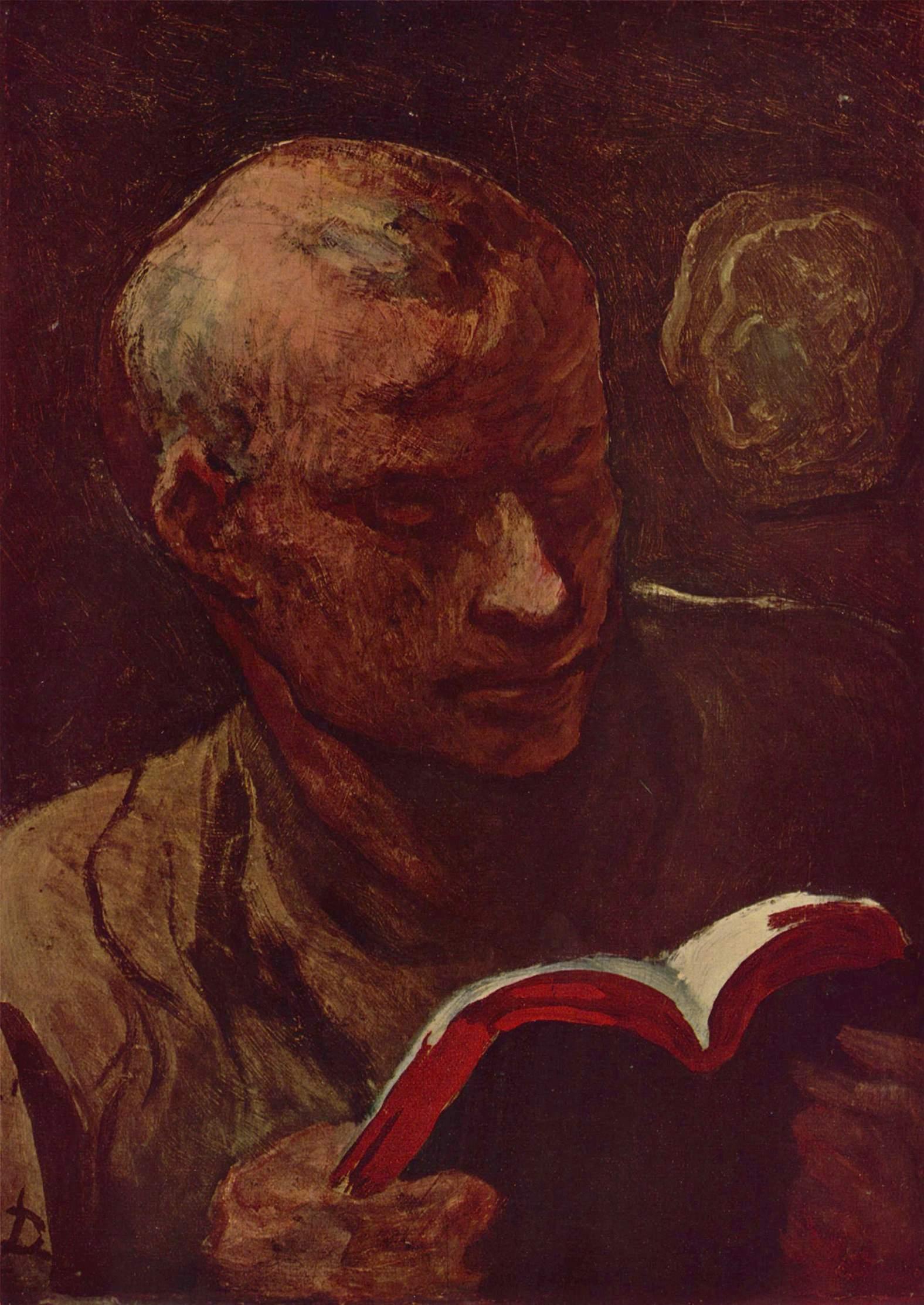 Читатель, Домье Оноре
