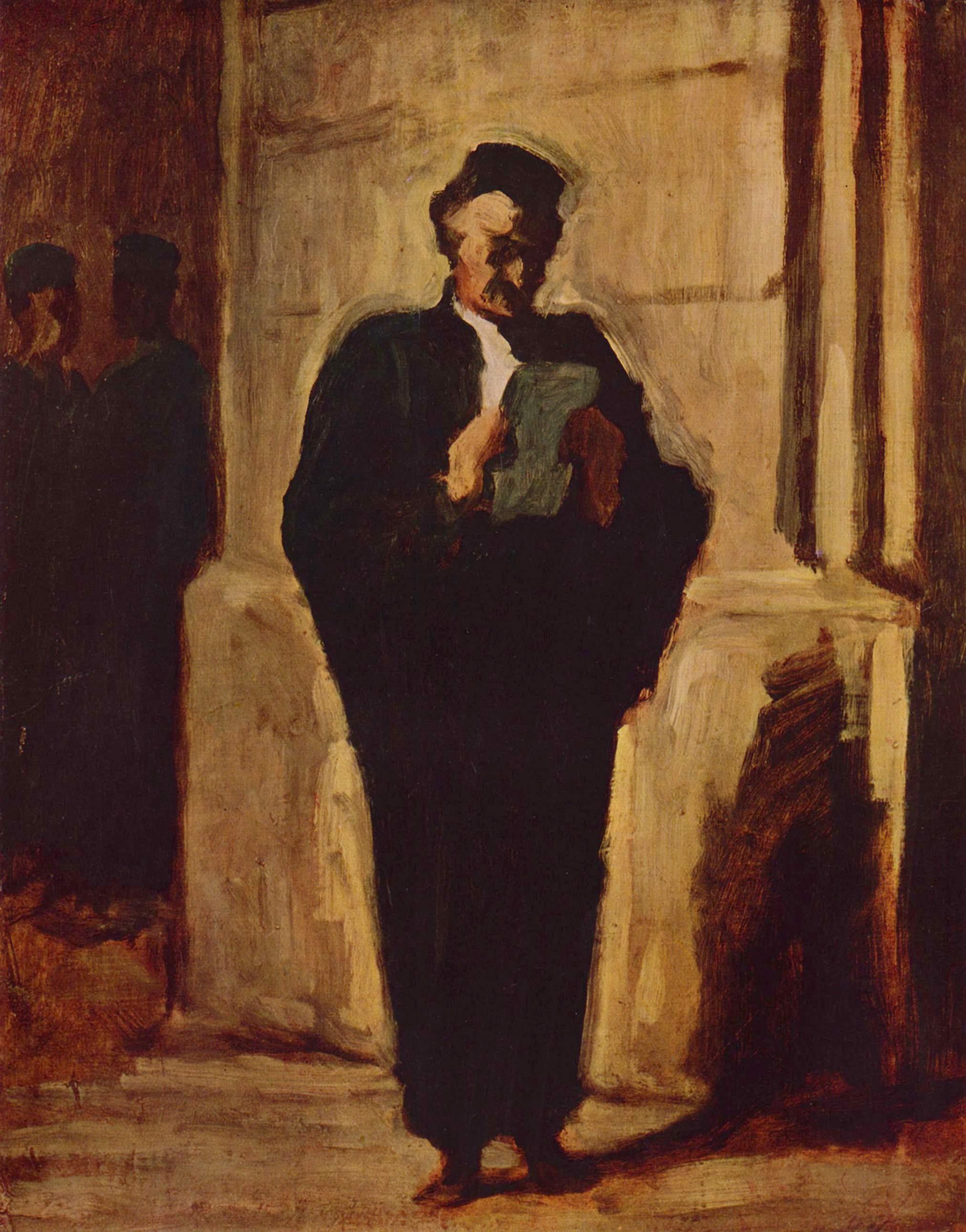 Читающий адвокат, Домье Оноре